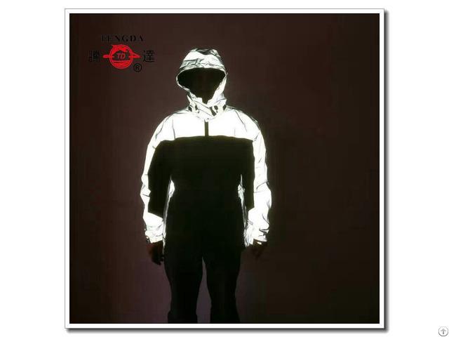 Reflective Safety Motorcycle Rain Jacket