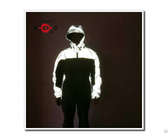 Reflective Safety Motorcycle Rain Jacket