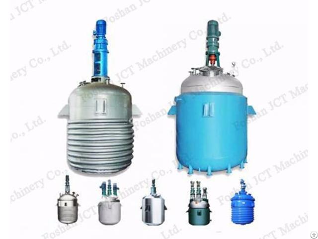 Chemical Reactor For Resin Emulsion Making