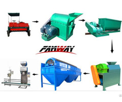 Mini Organic Fertilizer Production Line Designed By Fan Way