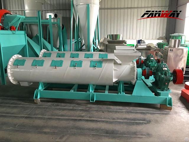 New Type Granulator Organic Fertilizer Production Line