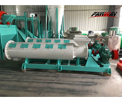 New Type Granulator Organic Fertilizer Production Line