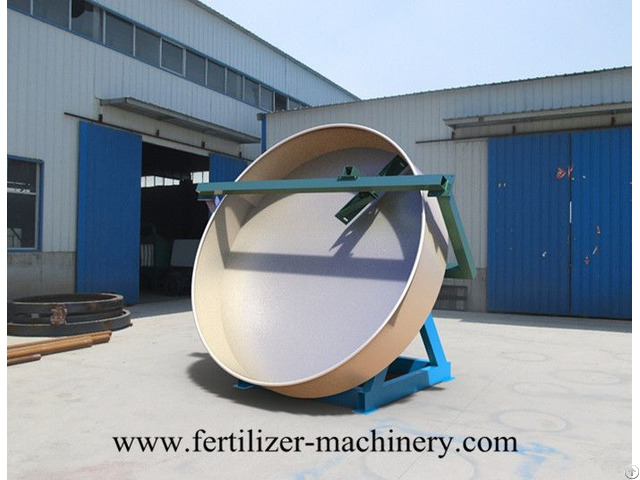 Pan Granulator Organic Fertilizer Production Line For Animal Manure Waste Making