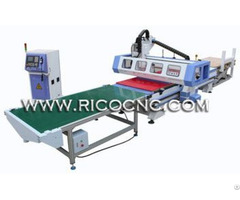Nesting Solution Auto Feeding Atc Cnc Router With Automatic Loading And Unloading System Alc1325atc