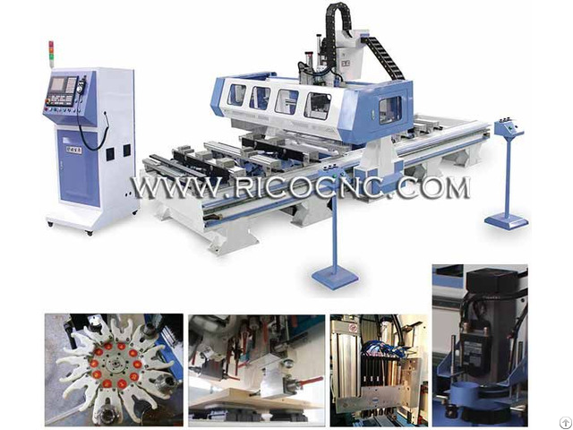 Heavy Duty Cnc P Tp Machining Center With Atc And Gang Drilling Ptp1325v