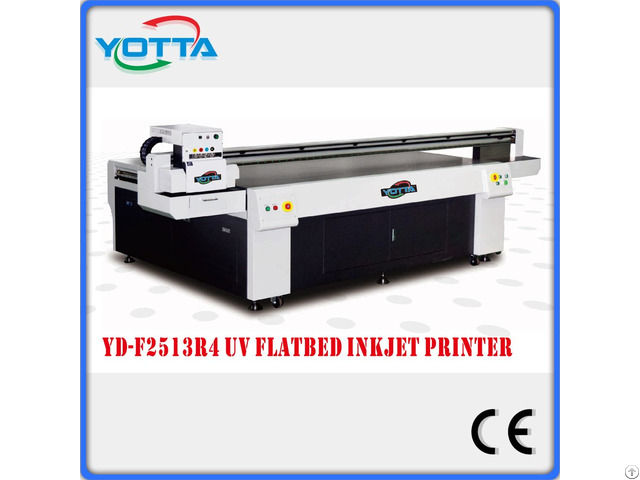 Uv Led Flatbed Printer For Ceramic Glass Printing