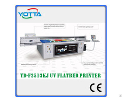 C M Y K W Varnish Uv Inkjet Flatbed Printer