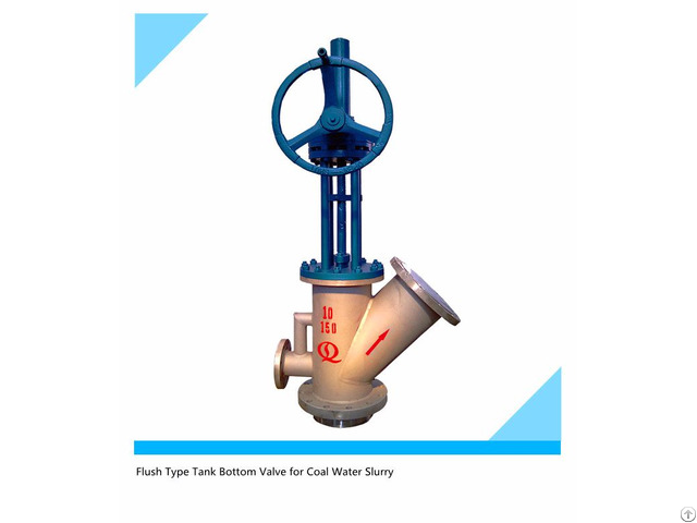 Coal Water Slurry Tank Bottom Outlet Valves