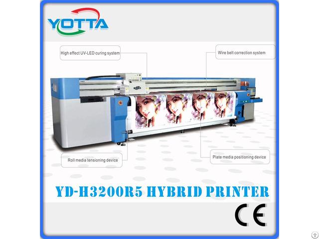 Digital Hybrid Uv Printer For Banner Wallpaper Sticker
