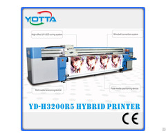 Digital Hybrid Uv Printer For Banner Wallpaper Sticker