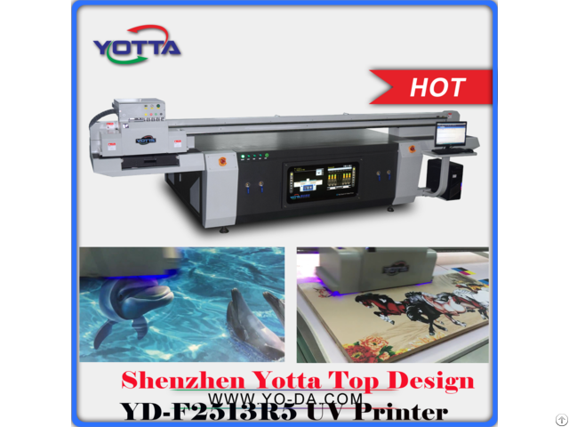 Uv 2513 Inkjet Flatbed Printing Machine For Acrylic Pvc Wood Metal Glass