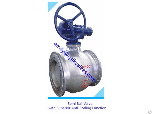 Pneumatic Wear Resistant Coal Spraying System Application Half Ball Valve
