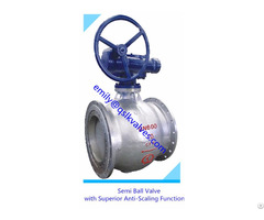 Pneumatic Wear Resistant Coal Spraying System Application Half Ball Valve