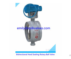 Double Way Metal Sealing Rotary Ball Valve For Water Pipeline System