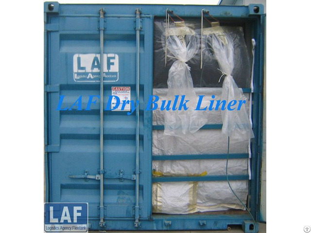 Bulk Container Liner For Packing Superabsorbent Polymers