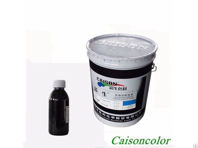 Pigment Dispersion And Color Paste