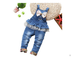 Children S Denim Jumpsuit