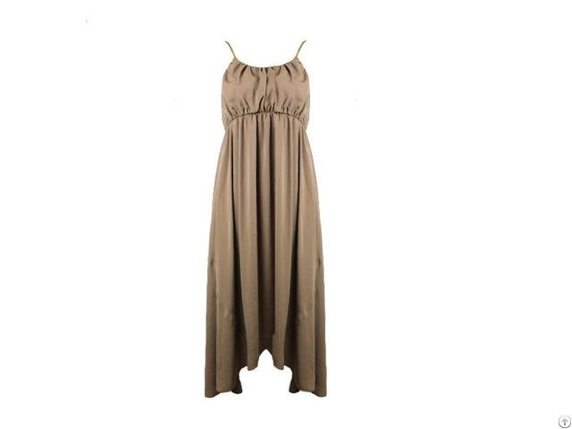 Beige Long Dress