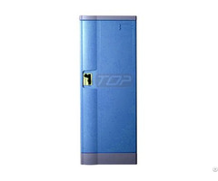 Double Tier School Lockers Abs Plastic Navy Color