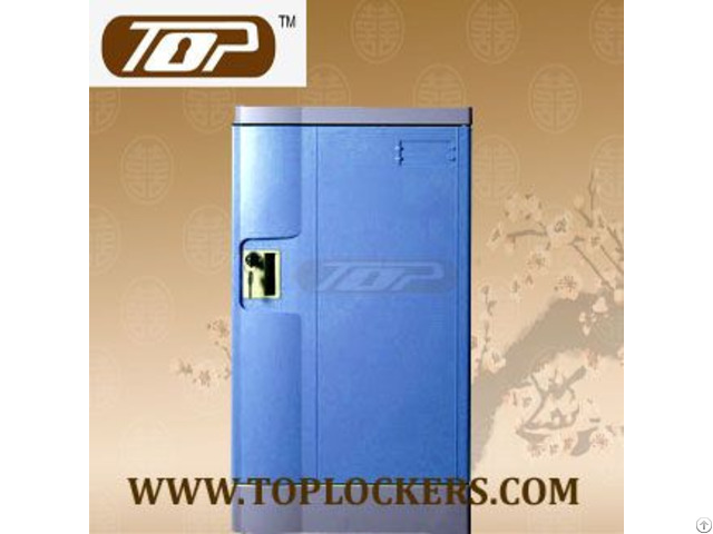Triple Tier Storage Lockers Abs Plastic Navy Color