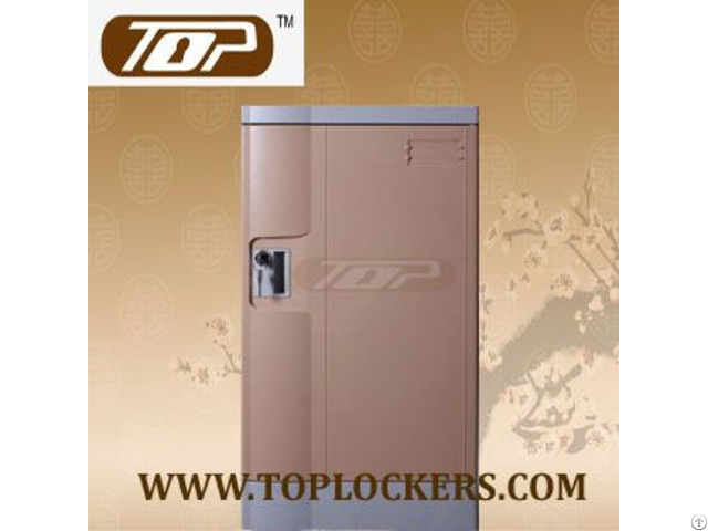 Triple Tier Knocked Down Abs Lockers Coffee Color