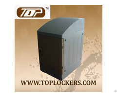 Triple Tier Locker Slanting Top Coffee