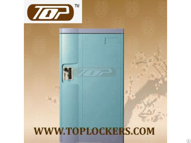 Triple Tier Abs Lockers Blue Color Knocked Down