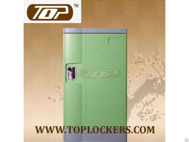 Triple Tier Factory Lockers Abs Plastic Green Color