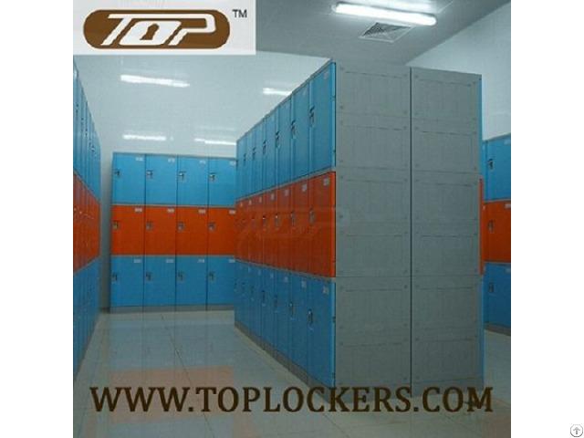 Triple Tier Abs Plastic Cabinets Blue Color