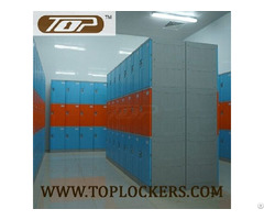 Triple Tier Abs Plastic Cabinets Blue Color