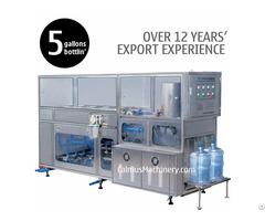 200bph 5 Gallon Mineral Water Plant 20 Litre Bottle Filling Machine