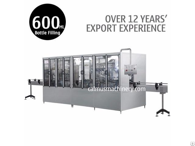 600ml Mineral Water Bottling Plant 3 In 1 Bottle Filling Machine