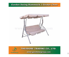 Good Star Group Garden Swing Hammock 3 Seater Chair