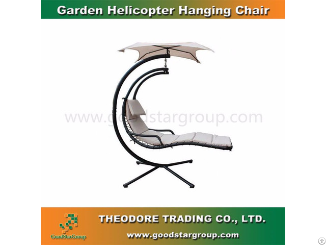 Good Star Group Garden Helicopter Hanging Chair