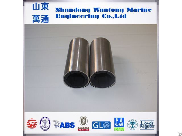 Factory Stern Shaft Marine Water Lubricated Rubber Bearing Based On Cutless Standard