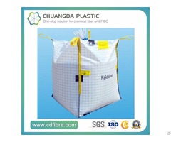 Type C Conductive Fibc Jumbo Big Bag With Pe Liner