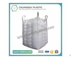 Customized Fibc Jumbo Big Bulk Cubic Bag With Baffle Inside