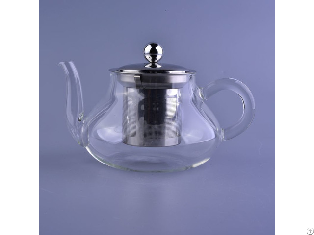 Borosilicate Glass Tea Pot With Filter