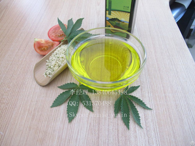 High Quality Hulled Hemp Seed Oil