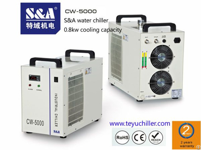 Recirculating And Portable Water Chiller Cw 5000