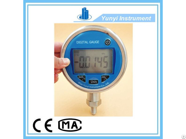 Ss 100mm Smart Digital Pressure Gauge