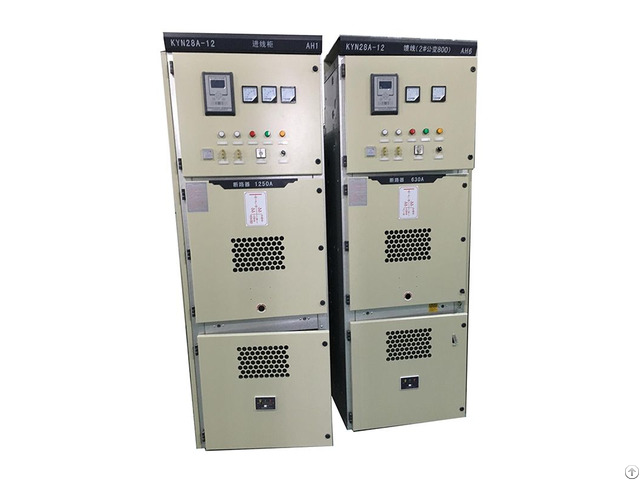 Armored Removable Ac Metal Enclosed Switchgear Kyn28 A 12kv