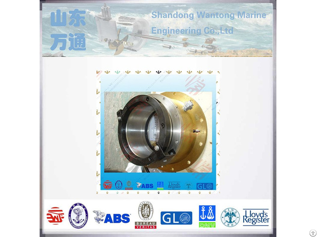 Forged Steel Material Naval Shaft Water Lubrication End Face Sealing Apparatus For Shipyard