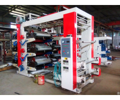 6colors Flexographic Printing Machine