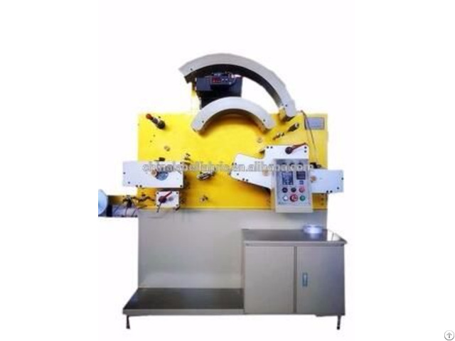 Non Stop Adjusting Plate Flexographic Label Printing Machine