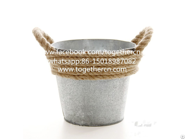 Made In China Photo Props Rustic Metal Bowl