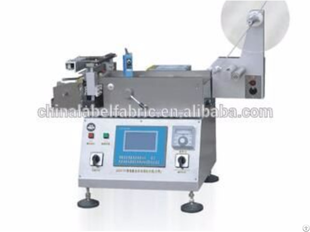 Htq Automatic Computerized Hot Cold Label Cutter