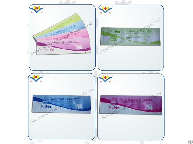 The Aluminum Foil Laminate Food Sachet