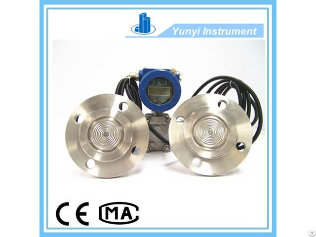 Differential Pressure Transmitter With Remote Diaphragm Seals