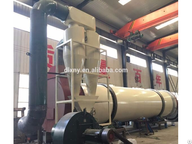 Three Silica Sand Rotary Industrial Drying Equipment